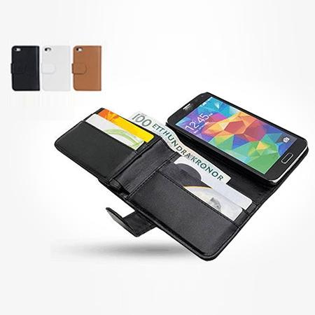 Mobilplånbok i läder för iPhone