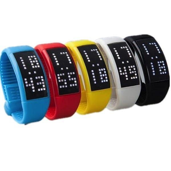 4GB USB LED-klocka (Kaloriräknare/stegräknare)