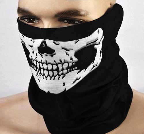 Tubscarf / Skidmask – Dödskalle
