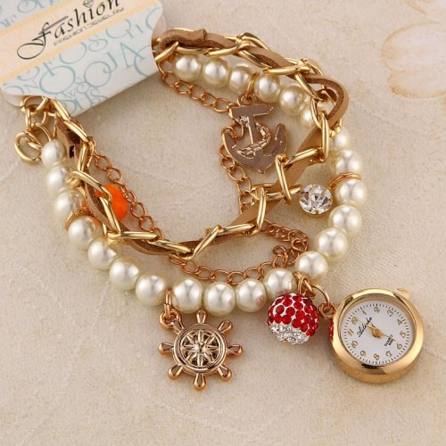 Rhinestone Combination armbandsur