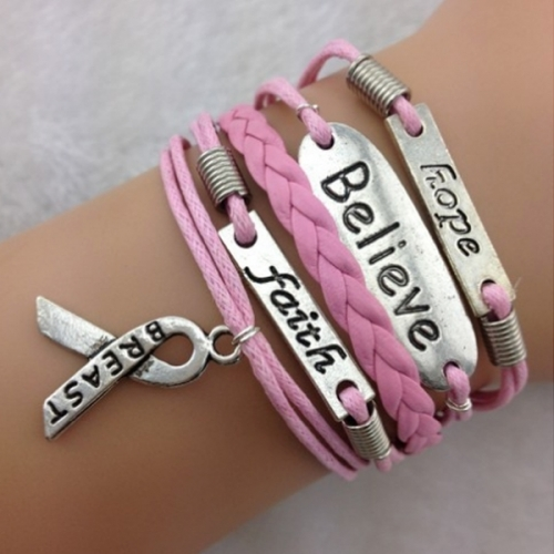 Believe, Faith & Hope-armband